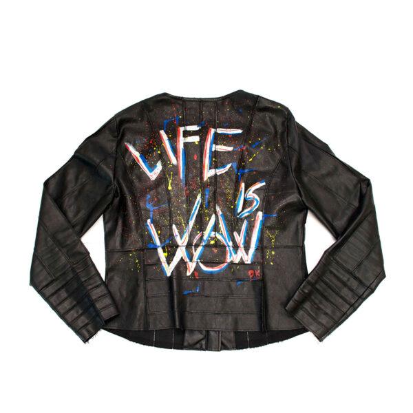 Life is Wow jacket - Pina Klardrøm